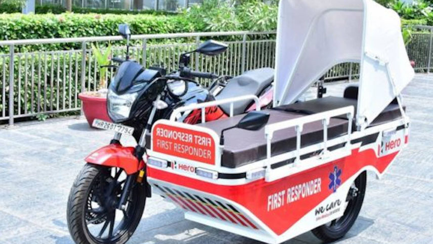 Continuing its assistance in fighting Covid-19, the two-wheeler major donates specially modified First Responder Vehicles to Uttarakhand