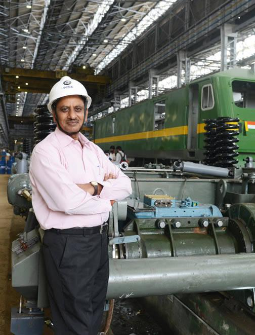 Prakash: we have vast knowledge of electric loco production