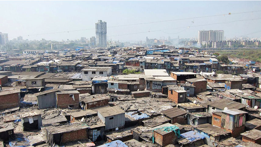 No other city in India or any urban environment globally had such a record population living in slums