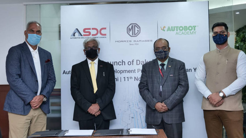 The car company extends global tech expertise to students through the launch of 'Dakshata' in partnership with ASDC and Autobot India