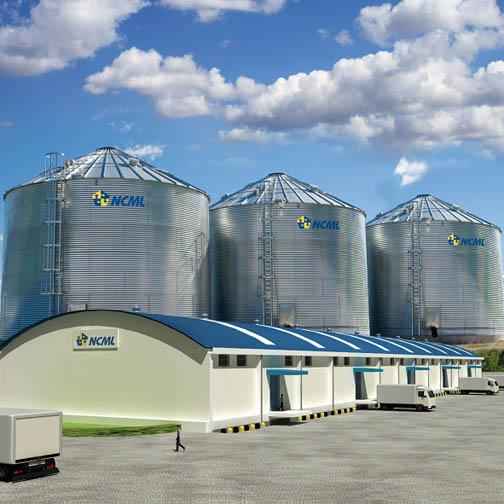 NCML is investing Rs1,100 crore in the silo project